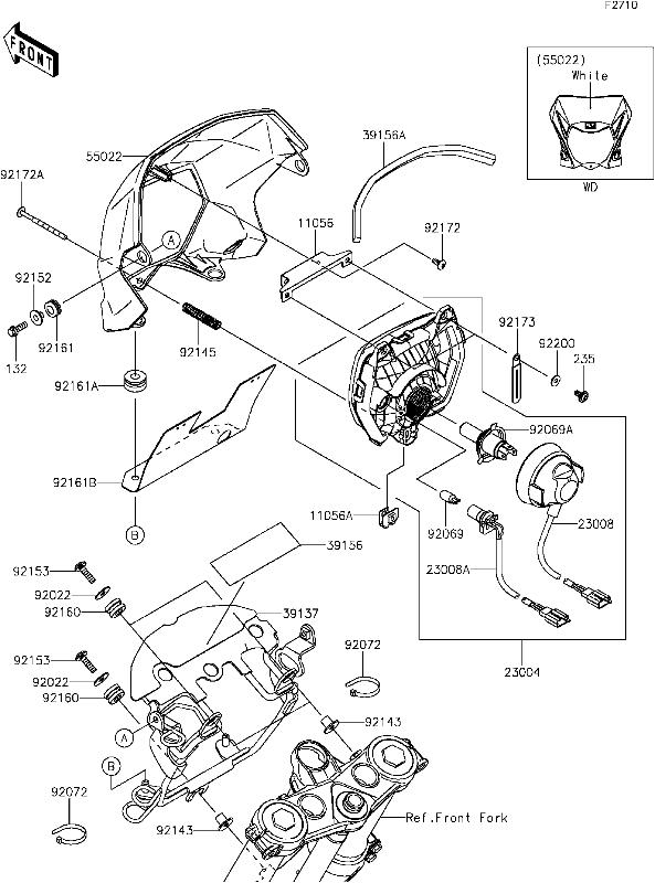 2016 Kawasaki Zx6r Wire Harness