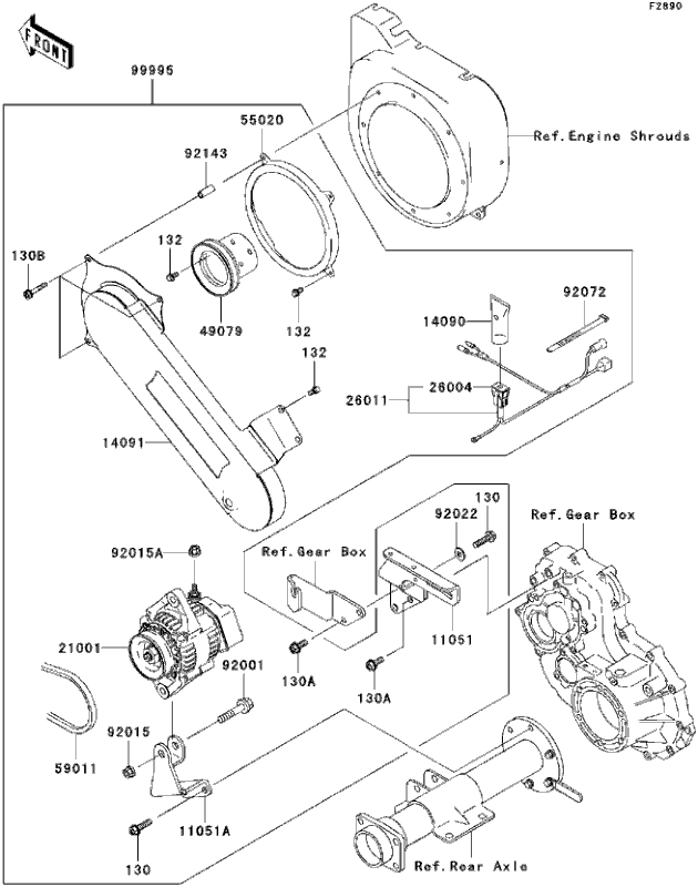 Kawasaki Mule 2500 Wiring Diagram Photos For