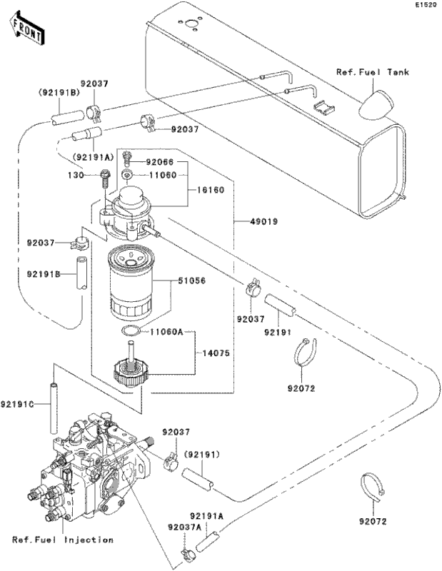 Related With Wiring Diagram For 2007 Kawasaki Mule 610